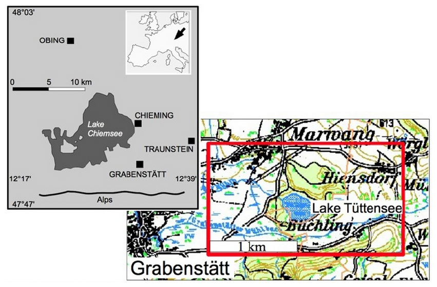 gravity survey Tuettensee meteorite crater