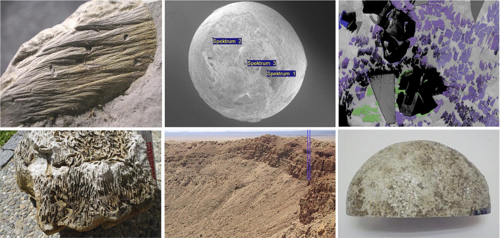 Bilder zum Kommentar des LfU-Meteoriten-Buchs