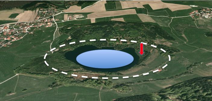tüttensee bohrung krater LfU