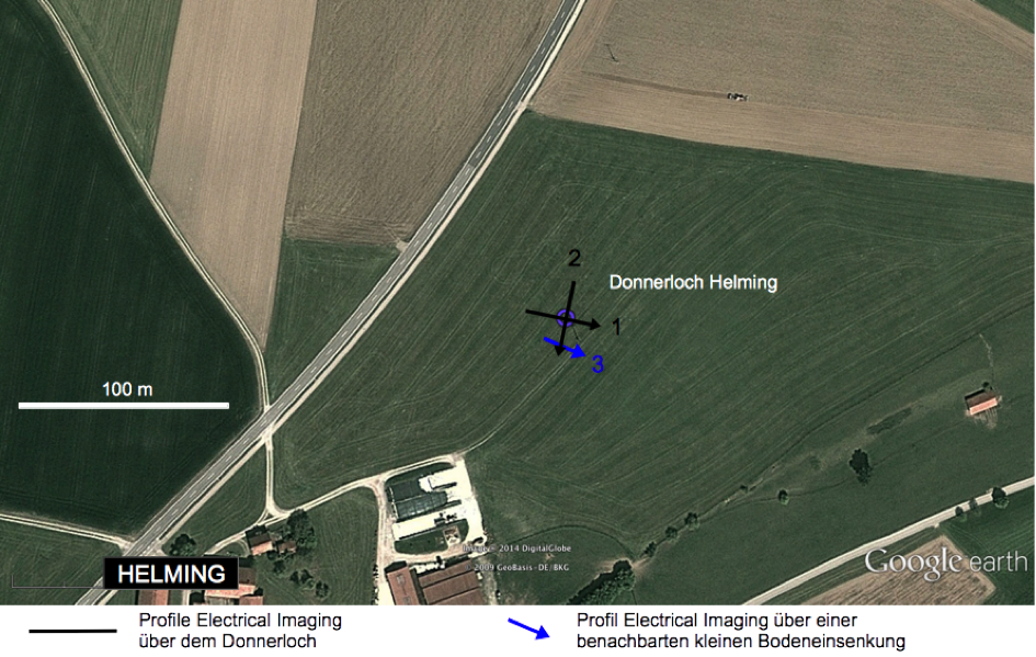 Google-Earth-Lage-Geoelektrik-Kienberg-Donnerloch