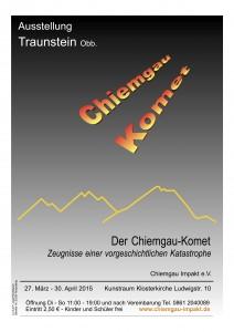 Ausstellung Chiemgau Komet