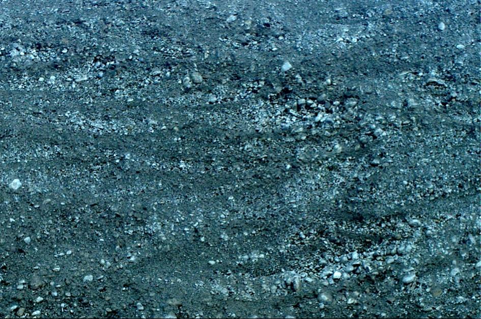 diamiktische Kreuzschichtung Chiemsee-Tsunami
