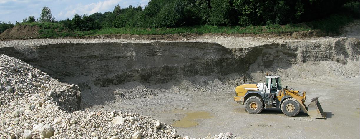 Kiesgrube Egerer Chiemsee-Tsunami Pseudotektonik
