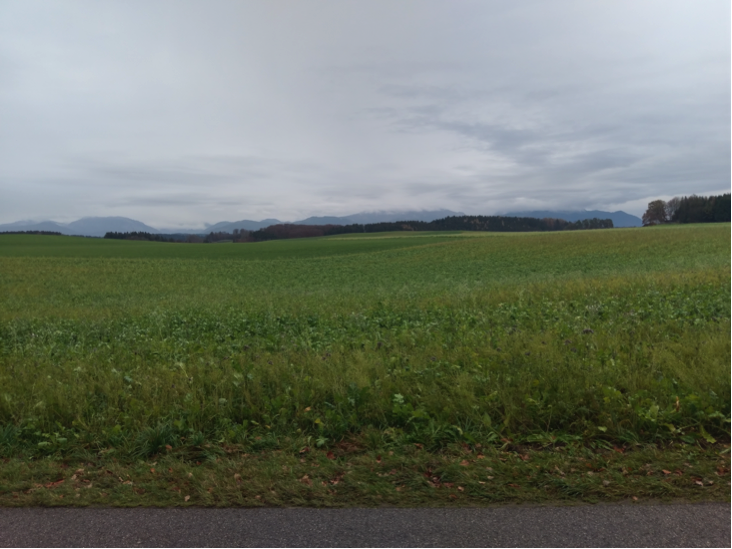 Chiemgau Impakt 200 m Krater Riederting vermutet