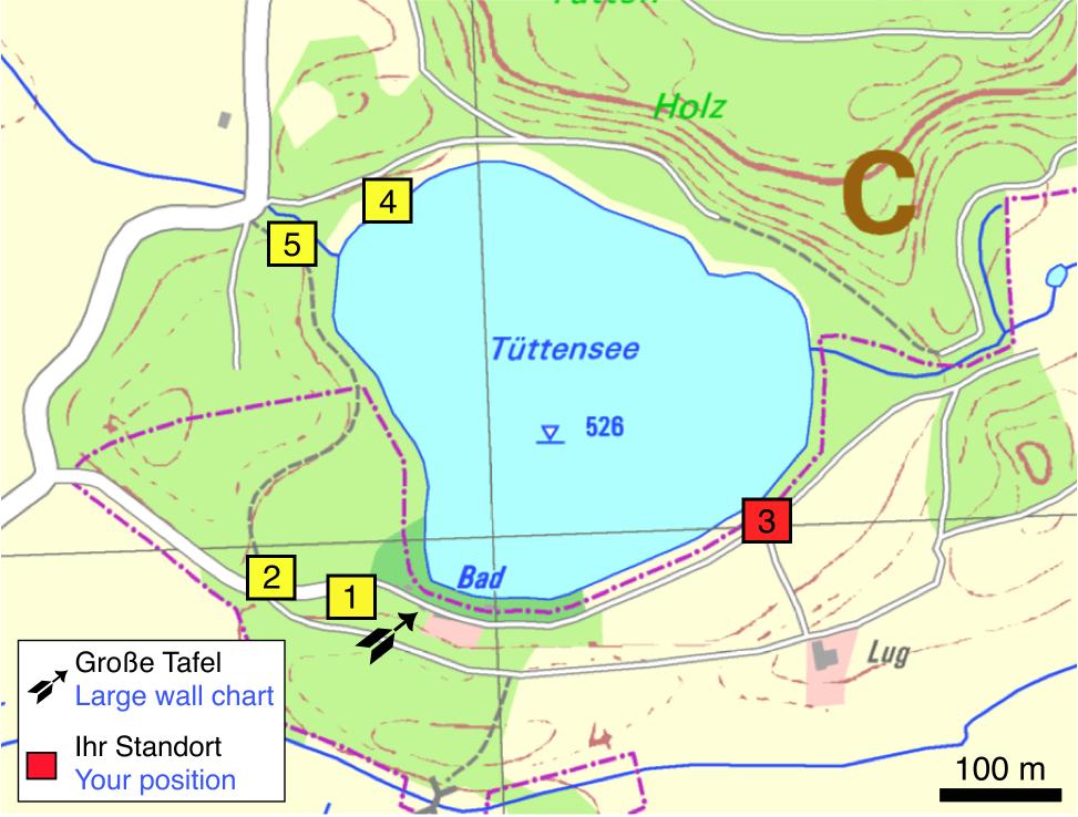 Tüttensee-Meteoritenkrater Impakt-Wanderweg 5